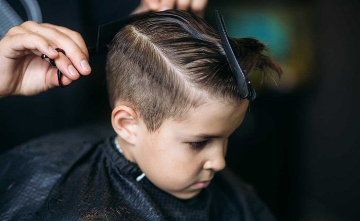 childrens hair services