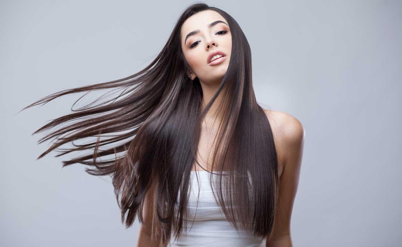 hair straightening service